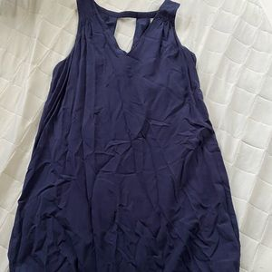Navy blue old navy mini dress size small